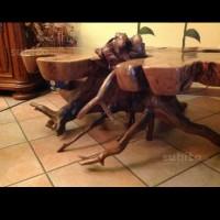 tavolino in legno unico esemplare
